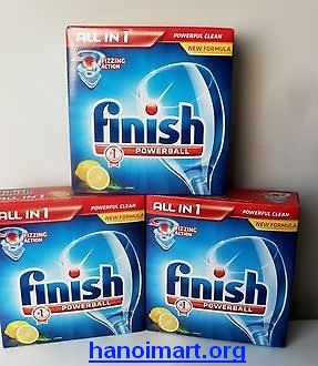 viên rửa bát finish all in one